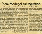 UNION 21. Januar 1967 Kritik
