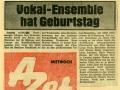 AZET 11. Januar 1967