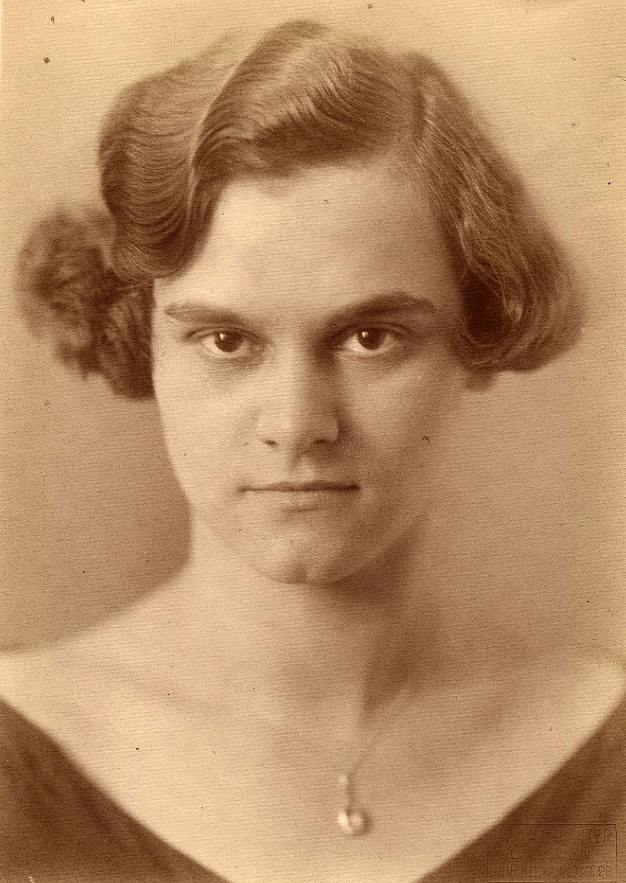 09_15 Berger, Erna, 1925, Foto Ursula Richter