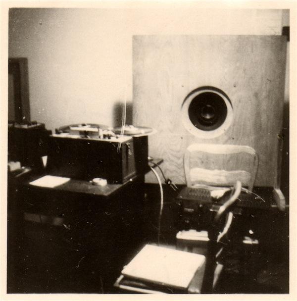 Erste Rundfunktechnik des Senders Dresden Foto; Archiv Gerhard Steinke