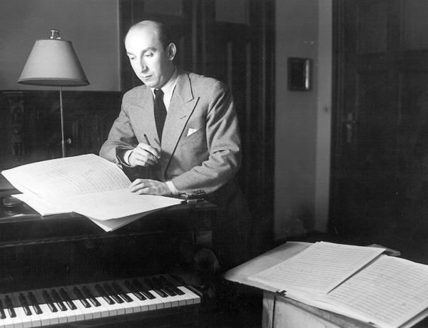 Mischa Spoliansky zu Anfang der 1930er Jahre