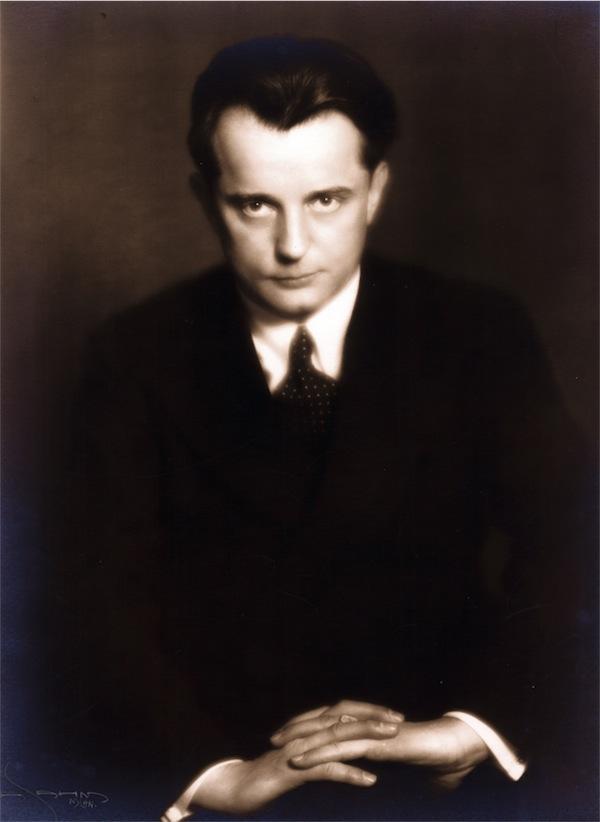Paul Schmitz, 1930 © Foto aus dem CD-Booklet - Sammlung Erika Schmitz