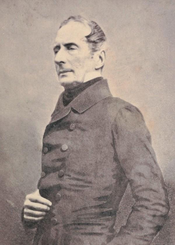 aLphonse De Lamartine französischer Dichter (1790 – 1869) fotografie von Gaspard felix Nadar, paris 1865