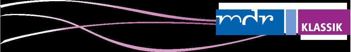 www MDR KLASSIK Logo mit Streifen