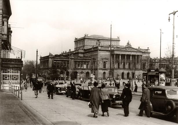 Das Neue Theater in Leipzig um 1930 Foto: Stadtgeschichtliches Museum Leipzig