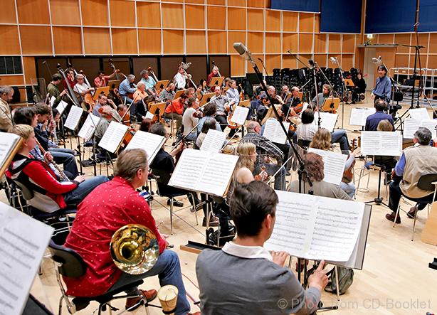 Das MDR Sinfonieorchester mit Jun Märkl Foto aus dem Booklet - MDR-Andreas Lander