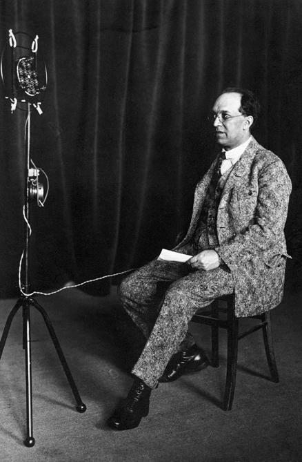 Der Künstlerische Berater der Comedia-Tonfilmreihe war Franz Schreker.  © Foto aus dem Booklet - Franz Schreker-Gesellschaft