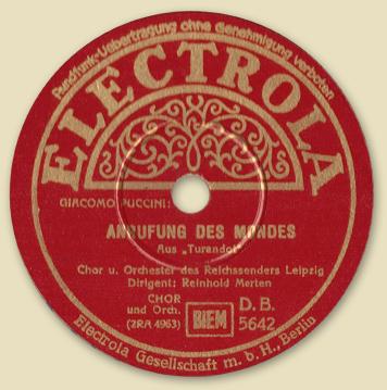 Puccini-Anrufung-des-Mondes-Electrola-Label